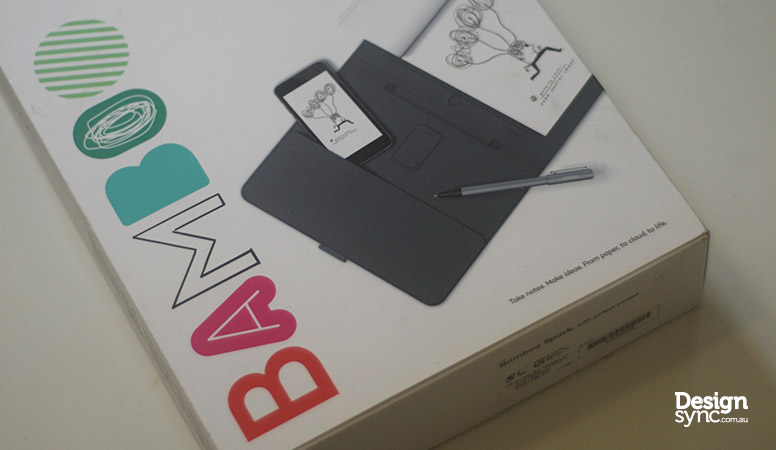 Design Sync - Wacom Bamboo Spark front package box