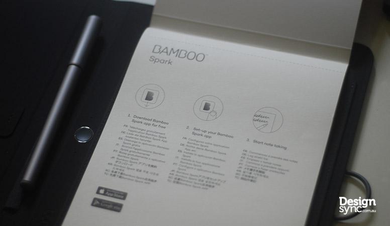 Design Sync - Wacom Bamboo Spark drawing pad