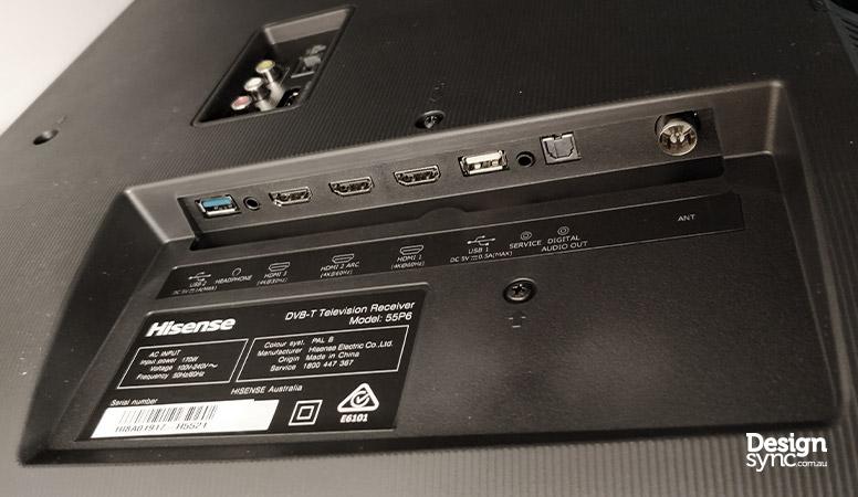 Hisense 55P6 UHD 4K Smart TV review | DESIGN SYNC
